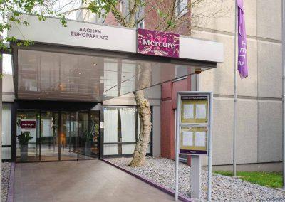 Mercure Hotel Aachen Europaplatz Aussenansicht