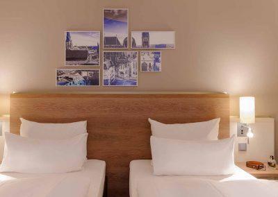 Mercure Hotel Aachen Europaplatz Standardzimmer Twin (2)
