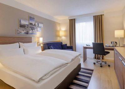 Mercure Hotel Aachen Europaplatz Standardzimmer mit Ausziehcouch (3)