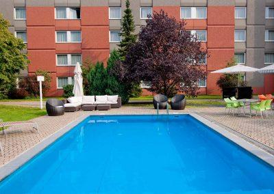 Mercure Hotel Aachen Europlatz Pool am Haus