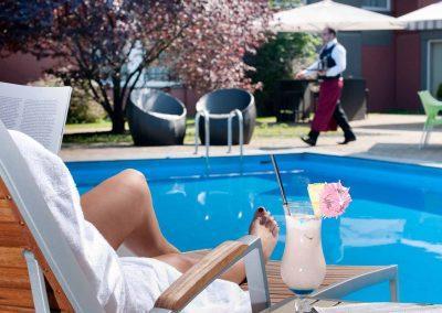 Mercure Hotel Aachen Europlatz Sonnen am Pool